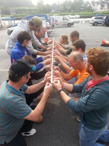 Team Building Task Helium Stick