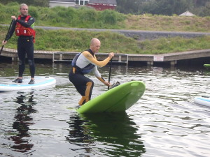 "Flat Water SUP skills ""The Pivot Turn"""