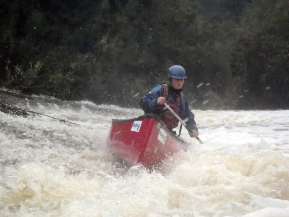 White Water Canoe Skills