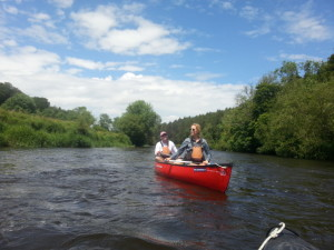 Canoe Tours on The Nore
