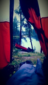 What View from the Tent every morning
