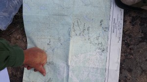Papids marked on the map for ease of navigation
