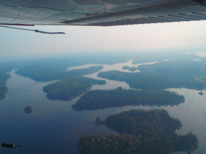 Our first view of the Landscape we would be in for 2 weeks came on the float plane ride in